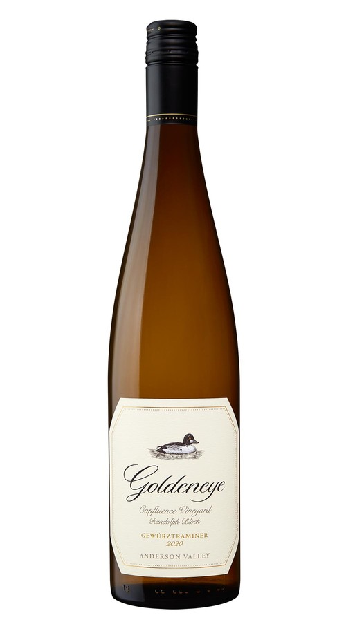 2020 Goldeneye Anderson Valley Gewurztraminer Confluence Vineyard