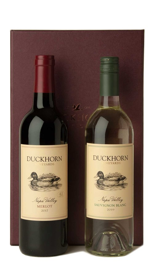 Duckhorn Vineyards Red + White Gift Set (Merlot)