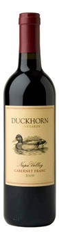 2009 Duckhorn Vineyards Napa Valley Cabernet Franc