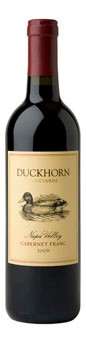 2010 Duckhorn Vineyards Napa Valley Cabernet Franc