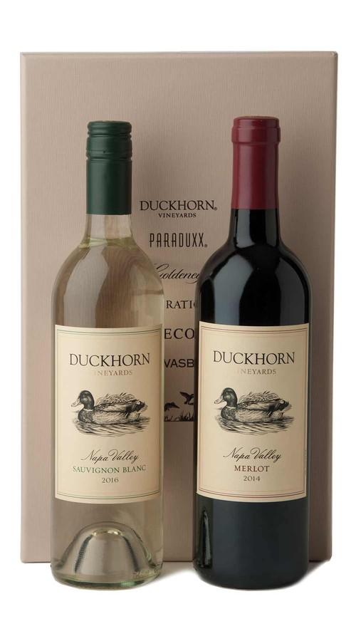 Duckhorn Vineyards Red + White Gift Set (Merlot)