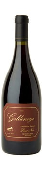 2009 Goldeneye Anderson Valley Pinot Noir Gowan Creek Vineyard Hillside Image