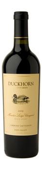 2010 Duckhorn Vineyards Napa Valley Cabernet Sauvignon Monitor Ledge Vineyard