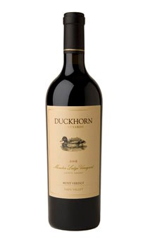 2009 Duckhorn Vineyards Napa Valley Petit Verdot Monitor Ledge Vineyard