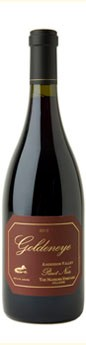 2010 Goldeneye Anderson Valley Pinot Noir The Narrows Vineyard - Hillside