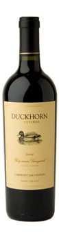 2010 Duckhorn Vineyards Napa Valley Cabernet Sauvignon Patzimaro Vineyard