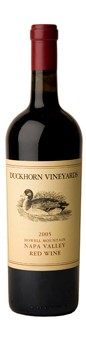 2005 Duckhorn Vineyards Howell Mountain Red Wine