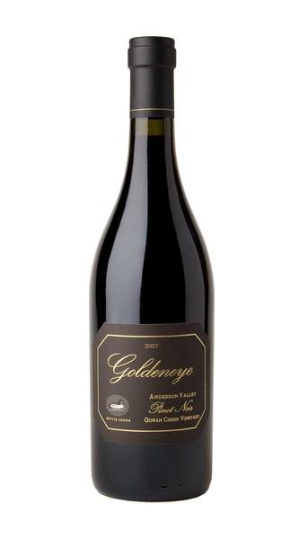 2007 Goldeneye Estate Grown Gowan Creek Vineyard Pinot Noir