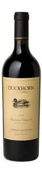 2008 Duckhorn Vineyards Estate Grown Patzimaro Vineyard Cabernet Sauvignon