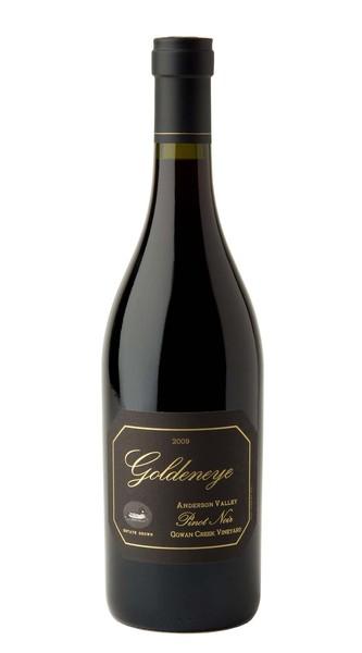 2009 Goldeneye Estate Grown Gowan Creek Vineyard Pinot Noir