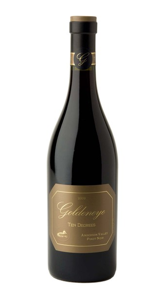 2009 Goldeneye Estate Grown Ten Degrees Pinot Noir