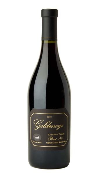 2010 Goldeneye Anderson Valley Pinot Noir Gowan Creek Vineyard