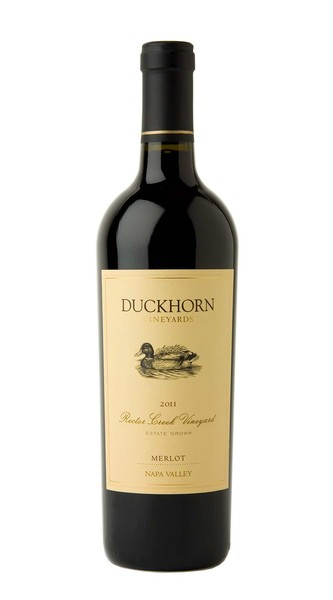 2011 Duckhorn Vineyards Napa Valley Merlot Rector Creek Vineyard