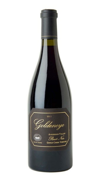 2011 Goldeneye Anderson Valley Pinot Noir Gowan Creek Vineyard