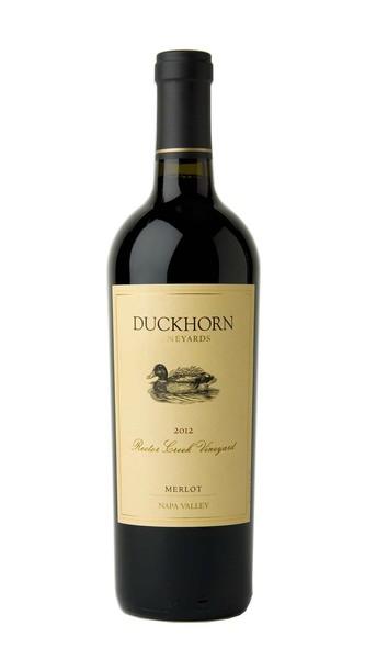 2012 Duckhorn Vineyards Napa Valley Merlot Rector Creek Vineyard Image