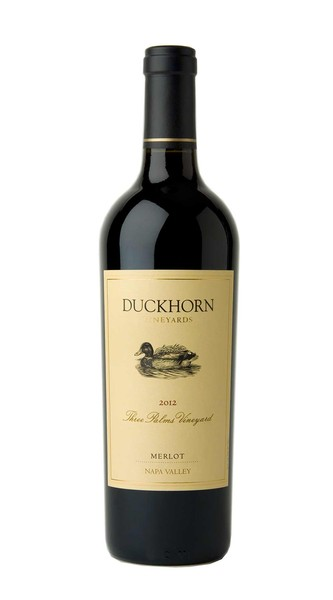 2012 Duckhorn Vineyards Napa Valley Merlot Three Palms Vineyard