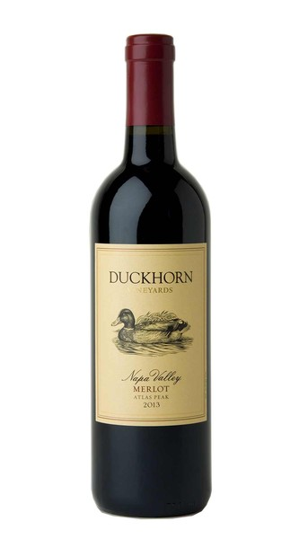2013 Duckhorn Vineyards Atlas Peak Napa Valley Merlot