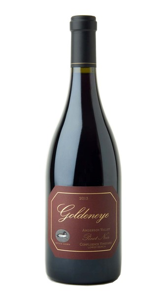 2013 Goldeneye Anderson Valley Pinot Noir Confluence Vineyard - Lower Bench