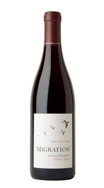 2013 Migration Russian River Valley Pinot Noir Dutton Ranch Vineyard Image