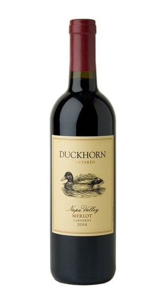 2014 Duckhorn Vineyards Carneros Napa Valley Merlot