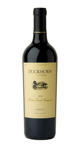 2014 Duckhorn Vineyards Napa Valley Merlot Rector Creek Vineyard Image