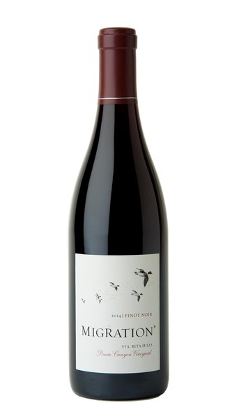 2014 Migration Sta. Rita Hills Pinot Noir Drum Canyon Vineyard