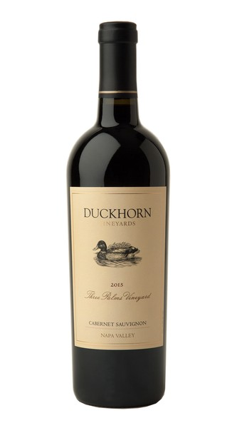 2015 Duckhorn Vineyards Napa Valley Cabernet Sauvignon Three Palms Vineyard