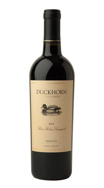 2015 Duckhorn Vineyards Napa Valley Merlot Three Palms Vineyard