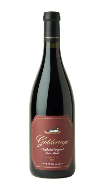 2015 Goldeneye Anderson Valley Pinot Noir Confluence Vineyard - Lower Bench Image