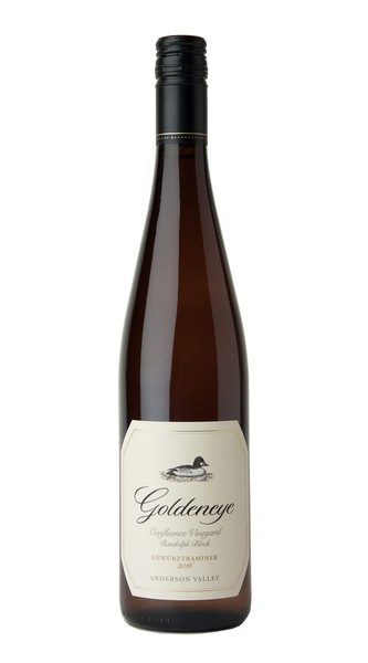2016 Goldeneye Anderson Valley Gewurztraminer Confluence Vineyard