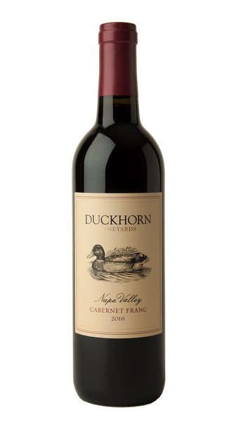 2016 Duckhorn Vineyards Napa Valley Cabernet Franc