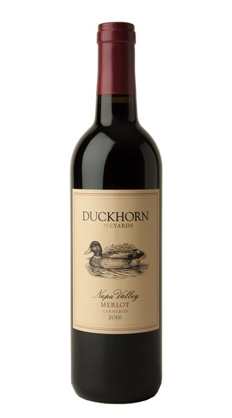 2016 Duckhorn Vineyards Carneros Napa Valley Merlot
