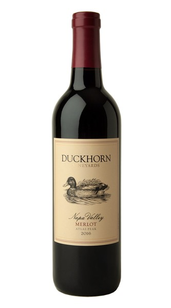 2016 Duckhorn Vineyards Atlas Peak Napa Valley Merlot