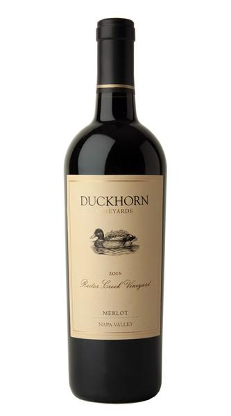 2016 Duckhorn Vineyards Napa Valley Merlot Rector Creek Vineyard