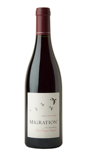 2016 Migration Sta. Rita Hills Pinot Noir Drum Canyon Vineyard