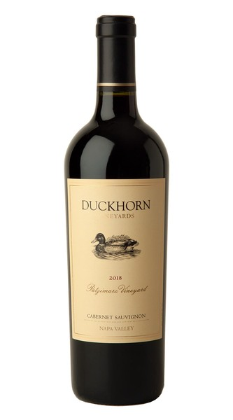 2018 Duckhorn Vineyards Napa Valley Cabernet Sauvignon Patzimaro Vineyard