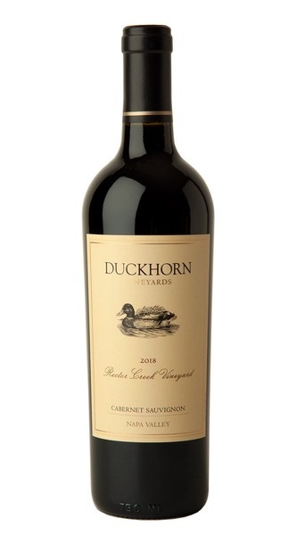 2018 Duckhorn Vineyards Napa Valley Cabernet Sauvignon Rector Creek Vineyard