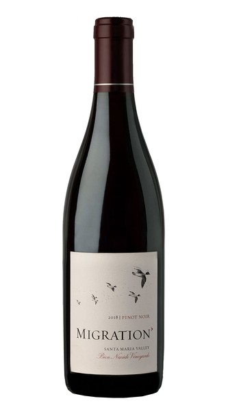 2018 Migration Santa Maria Valley Pinot Noir Bien Nacido Vineyard