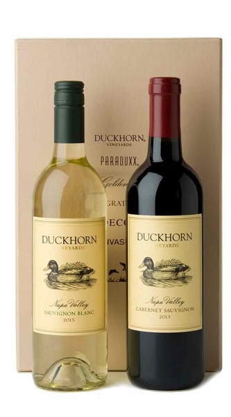 Duckhorn Vineyards Red + White Gift Set (Cabernet)