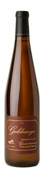 2012 Goldeneye Anderson Valley Estate Grown Gewurztraminer Confluence Vineyard
