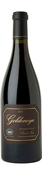 2012 Goldeneye Anderson Valley Pinot Noir The Narrows Vineyard