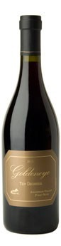 2012 Goldeneye Ten Degrees Estate Grown Anderson Valley Pinot Noir