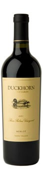 2011 Duckhorn Vineyards Napa Valley Merlot Three Palms Vineyard Image