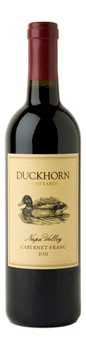 2011 Duckhorn Vineyards Napa Valley Cabernet Franc