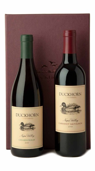 Duckhorn Vineyards Red + White Gift Set (Chardonnay)