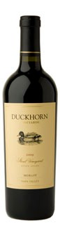 2010 Duckhorn Vineyards Napa Valley Estate Merlot Stout Vineyard