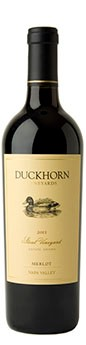 2011 Duckhorn Vineyards Napa Valley Merlot Stout Vineyard