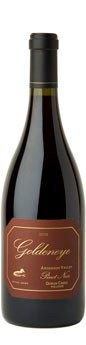 2010 Goldeneye Anderson Valley Pinot Noir Split Rail Vineyard Image