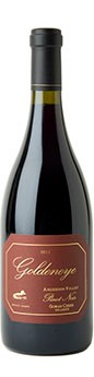 2011 Goldeneye Anderson Valley Pinot Noir Gowan Creek Vineyard - Hillside