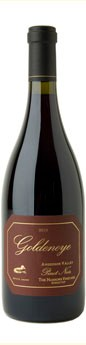 2010 Goldeneye Anderson Valley Pinot Noir The Narrows Vineyard - Ridge Top